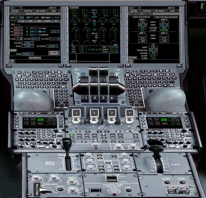 A380 Panel